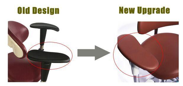 Swing-out-Armrests-Dental-Operator-Stool-1