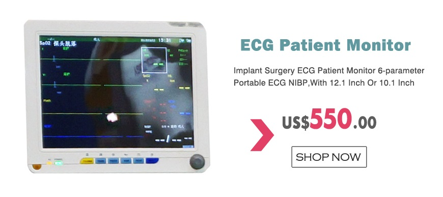 Implant Surgery ECG Patient Monitor