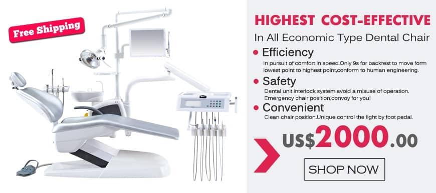 Human Friendly Economical Dental Chair Unit