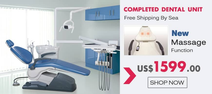 Completed Dental Unit Free Shipping By Sea!