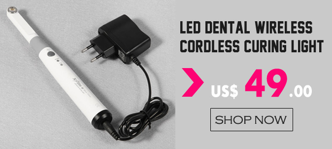 LED Dental Wireless Cordless Curing Light Lamp 5W