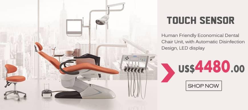 Touch sensor Human Friendly Economical Dental Chair Unit
