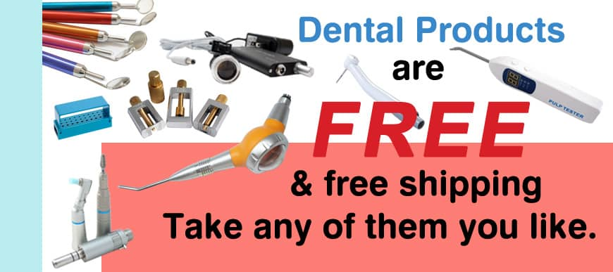 Share your feedback and get hot sale dental gifts for free!